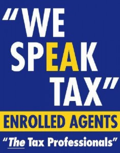 NAEA - We Speak Tax Logo