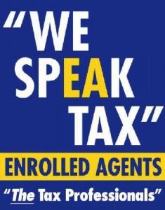NAEA - We Speak Tax Logo